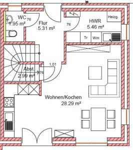 Dorfstrasse_30c_Haus2_linke_Seite_EG